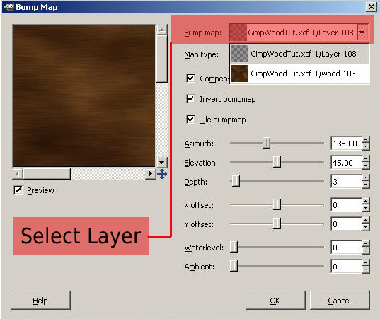 how to change layer mode gimp
